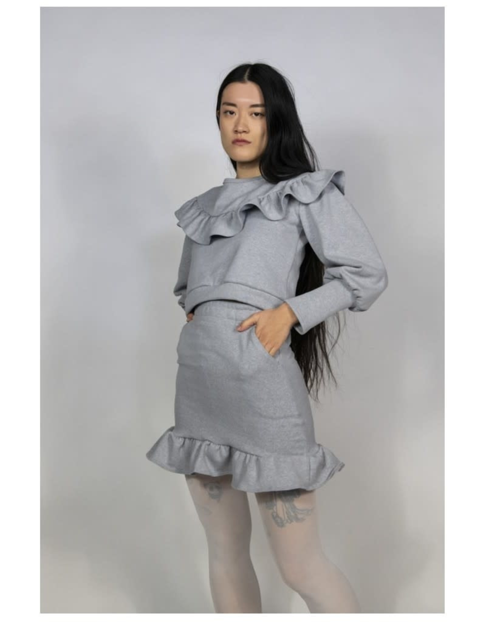 RightfulOwner Fleece Sweatshirt PE21 Rightful Owner Grey