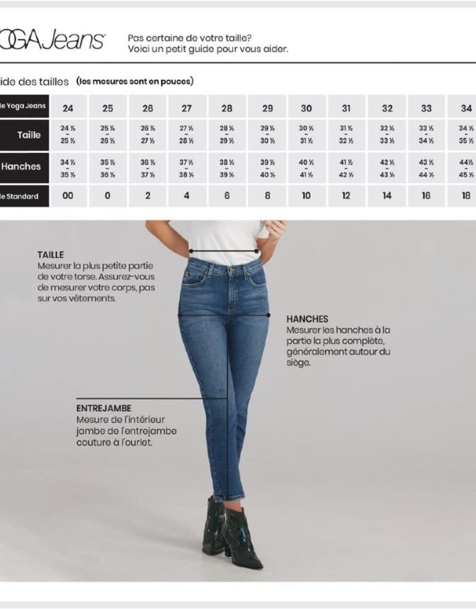 Yoga Jeans Classic Rise Straight Chloe 2085 AH2122 Yoga Jeans Bridge