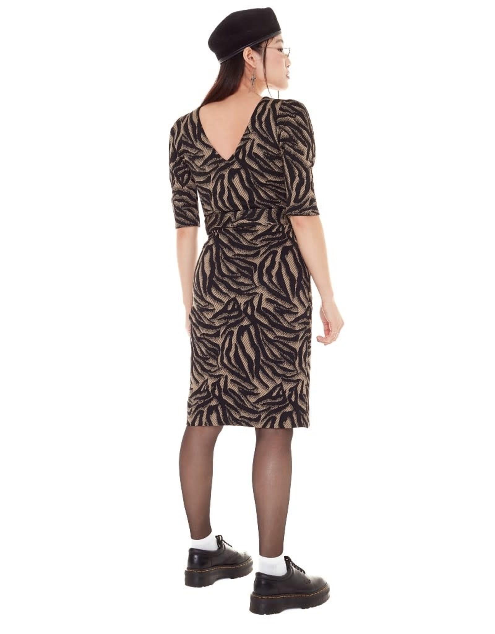 Annie 50 Robe Fashion Victim AH2122 Annie 50 Tricot Zèbre