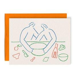 Paperole Carte de souhait Paperole Foodie Lovers