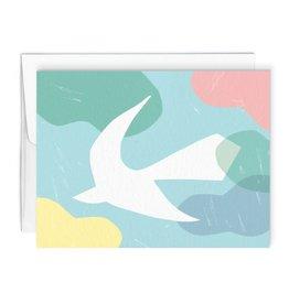 Paperole Carte de souhait Paperole Oiseau