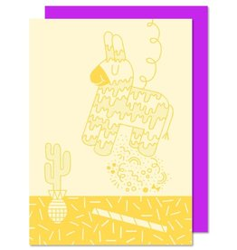 Paperole Carte de souhait Paperole Piñata