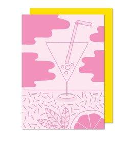Paperole Carte de souhait Paperole Cocktail