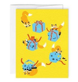 Paperole Carte de souhait Paperole Renard Cadeaux