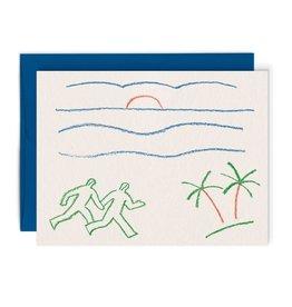 Paperole Carte de souhait Paperole Sunrise