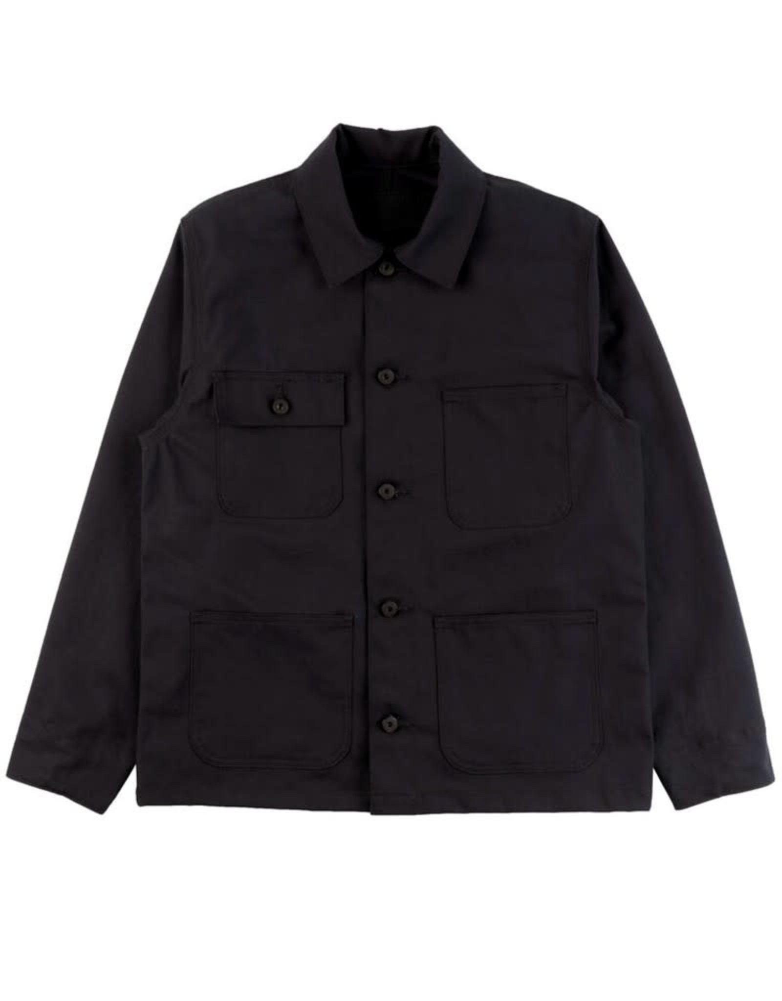 Naked and Famous Chore Coat AH2122 Naked & Famous Canvas Black