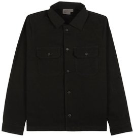 Naked and Famous Work Shirt AH2122 Naked & Famous Rinsed Oxford Black