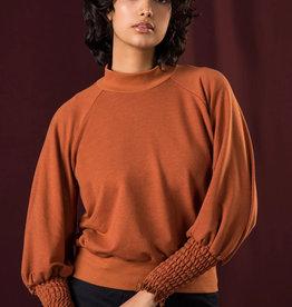 Jennifer Glasgow Sweat-shirt Caol AH2122 Jennifer Glasgow Rouille