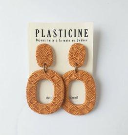 Plasticine Boucles d'oreilles Marianne AH2122 Plasticine Doré