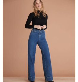 Yoga Jeans High Rise Wide Leg Lily 2073 AH2122 Yoga Jeans Blue Flare