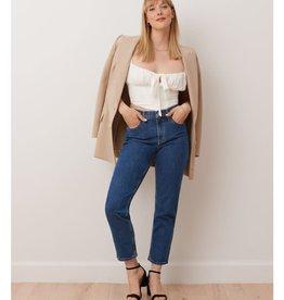 Yoga Jeans Woven High Rise Cropped Slim 1643 Yoga Jeans Savana