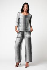 Inizio Linen Striped Pants