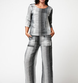 Inizio Linen Striped Pants