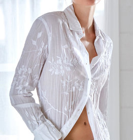 Cino Wisteria Embroidered Shirt