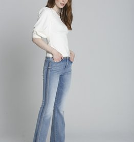 Driftwood Isabel Blue Macey Flare Jeans