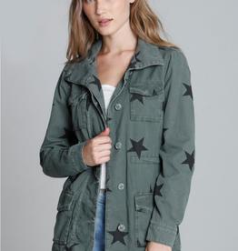 Driftwood Military Star Jacket