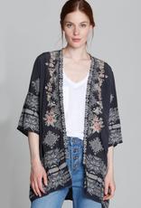 Driftwood Joelle Charcoal Kimono