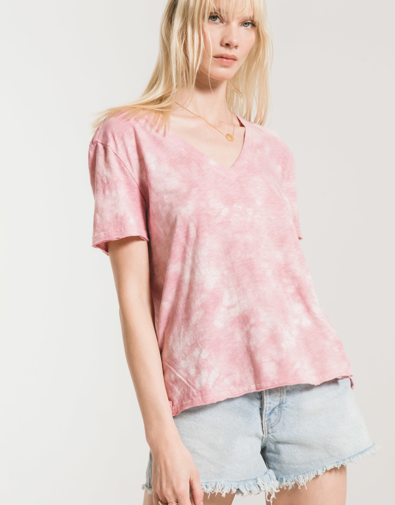 Z Supply Cloud Tie Dye Tee Shirt