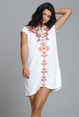 Driftwood Embroidered Tunic Dress