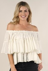 Lovestitch Tiered Ruffle Blouse