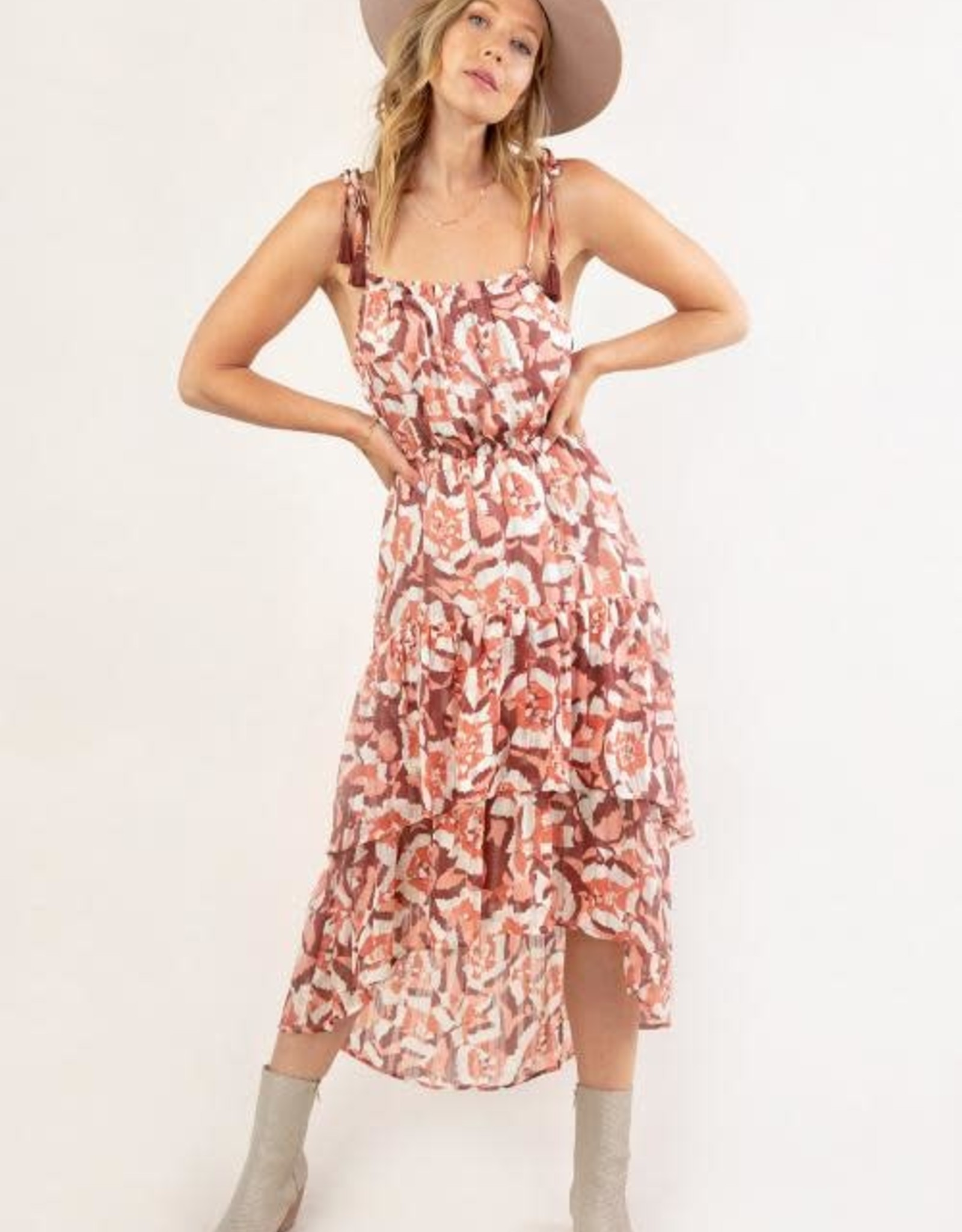 Lovestitch Ruffled Tiered Maxi Dress