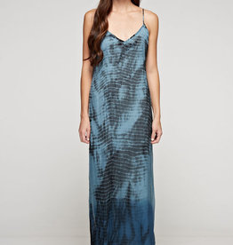 Lovestitch Ombre Tie Dye Maxi Slip Dress