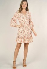 Lovestitch Floral Wrap Dress