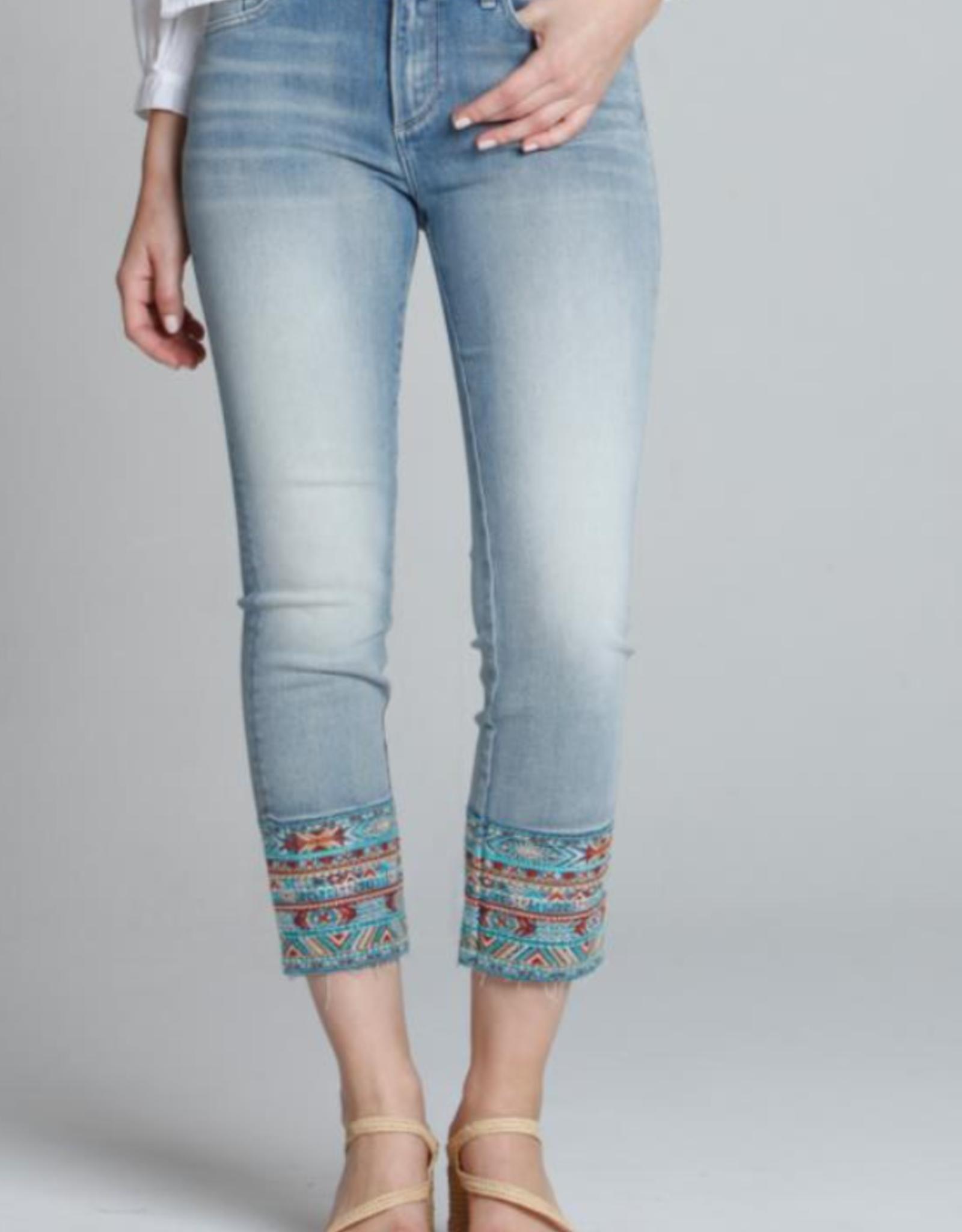 Driftwood Colette Sedona  Crop Jeans