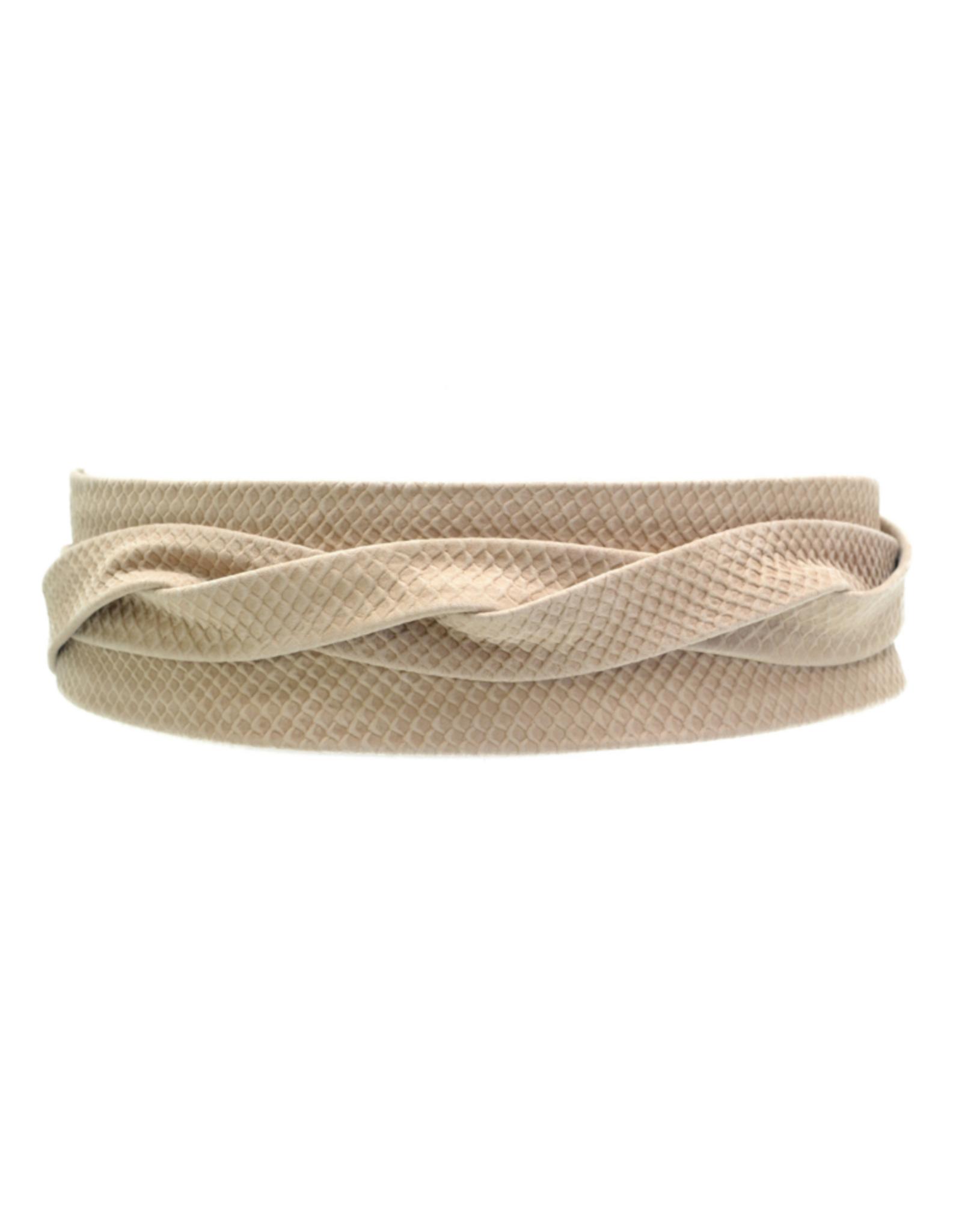 Leather Wrap Belt