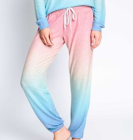 PJ Salvage Rainbow Ombre Lounge Pants