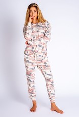 PJ Salvage Follow the Stars Camo Lounge Pants