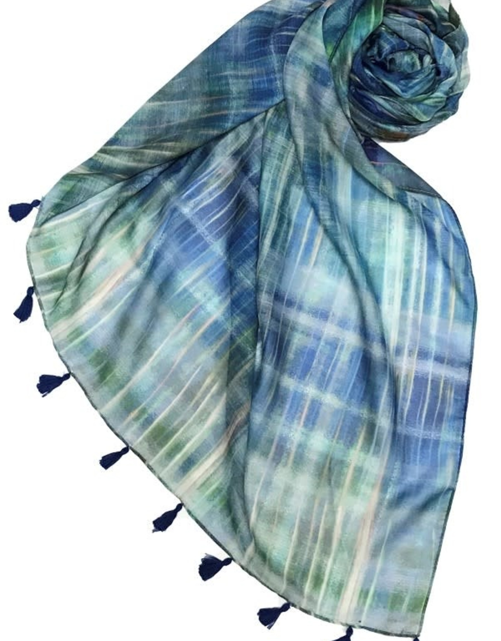 Subtle Luxury Northern Lights Scarf