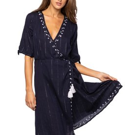 Subtle Luxury Wrap Dress