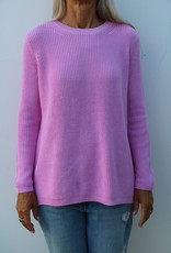 525 Emma Crewneck Shaker Stitch Sweater