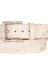 Brave Leather Currier Studded Belt Bone