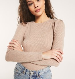 Z Supply Kaiya Rib Long Sleeve Top