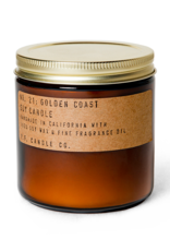 P. F. Candle Large Soy Candle Golden Coast