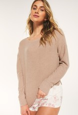 Z Supply Leila Rib Long Sleeve Pullover