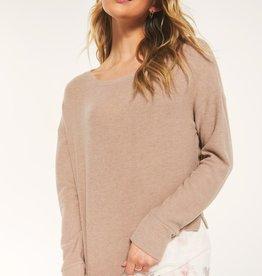 Z Supply Leila Rib Long Sleeve Pullover
