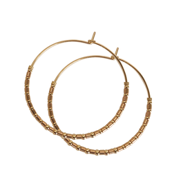 PS Gold and Rose Gold  Hoops