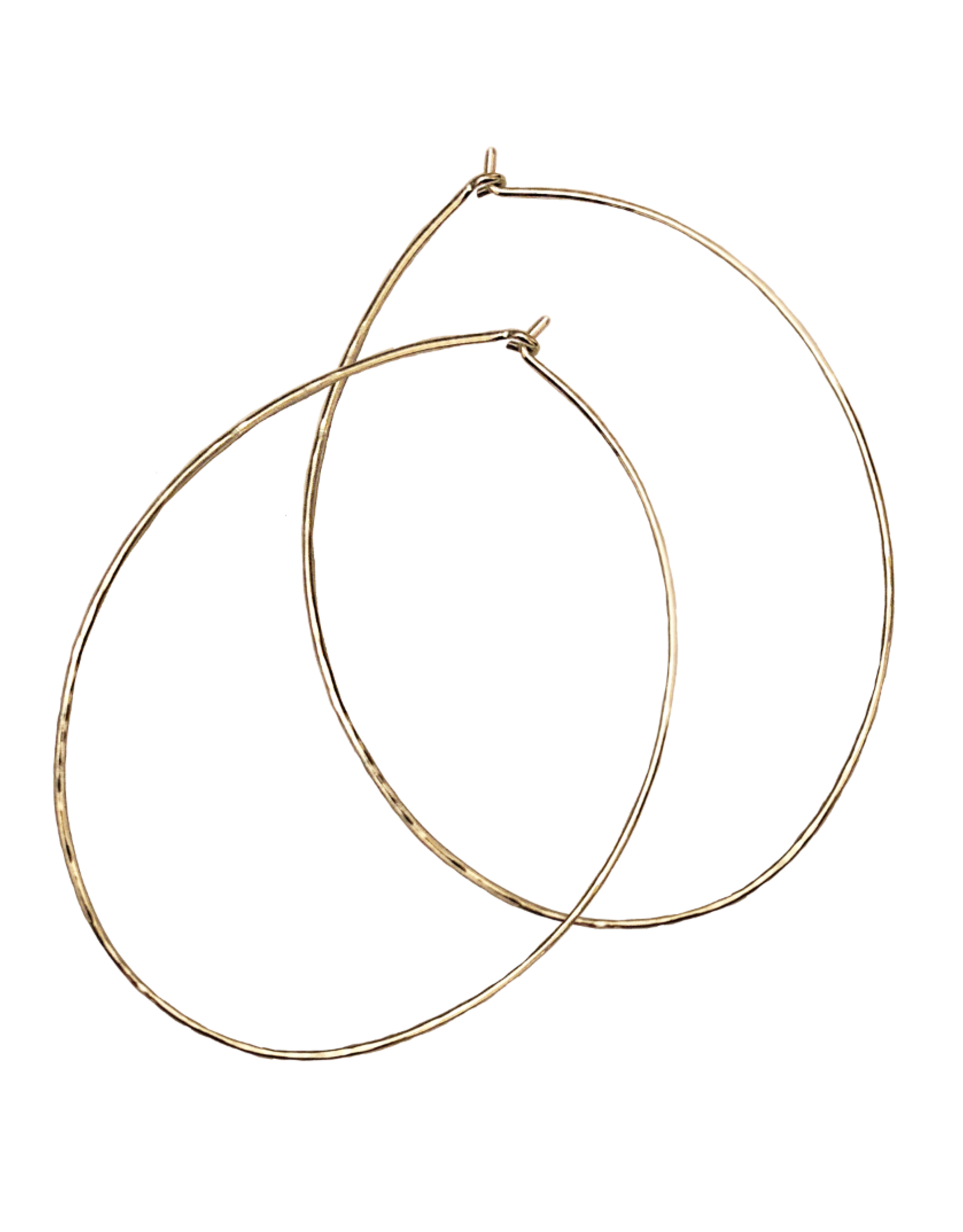 PS Gold Ovum Hoops