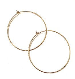 PS Gold Hoops Large