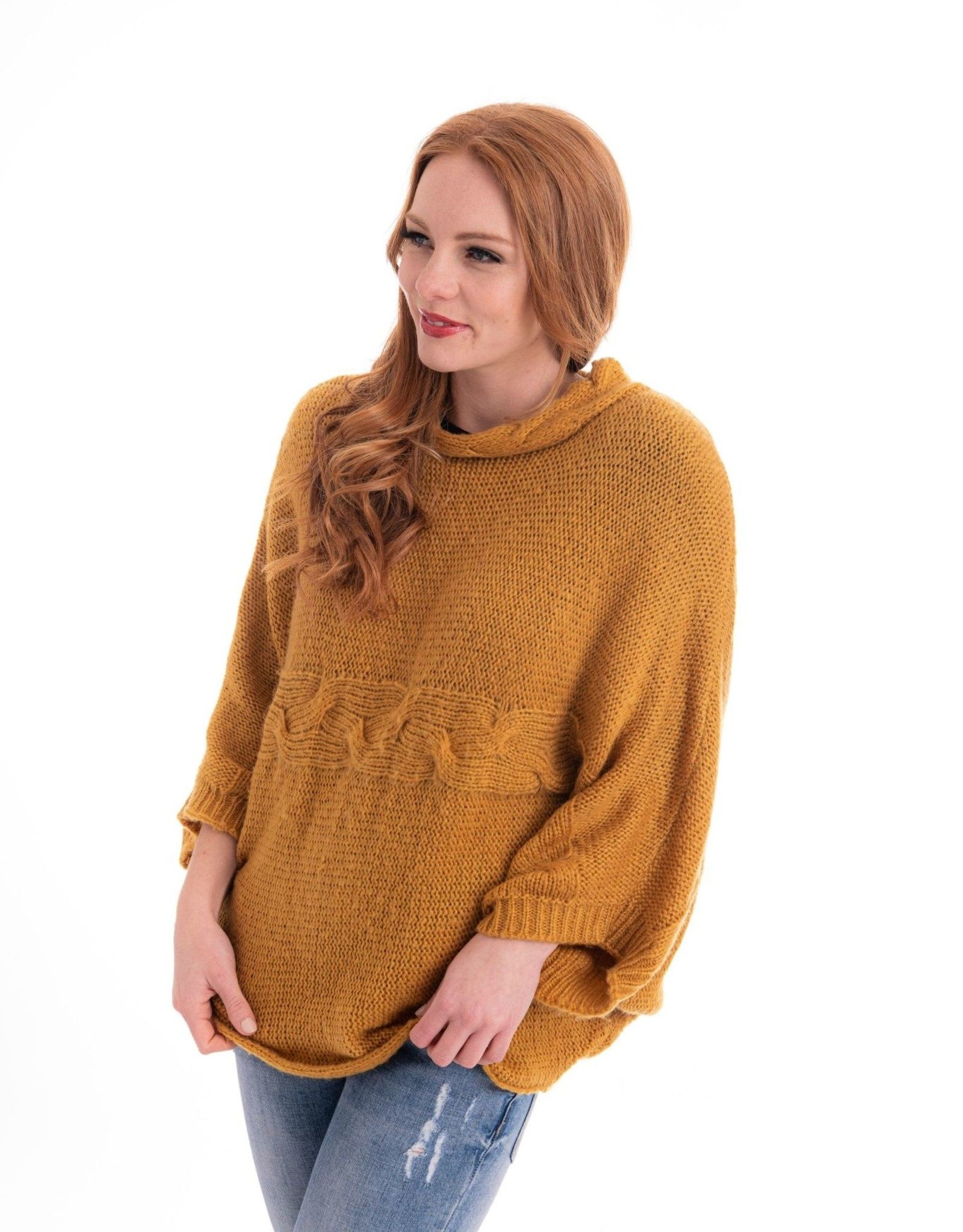Cienna Braid Mohair Sweater