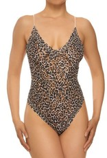 Hanky Panky  Leopard Bodysuit