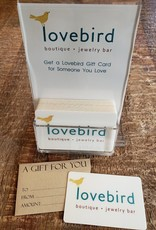 Lovebird Gift Card $75