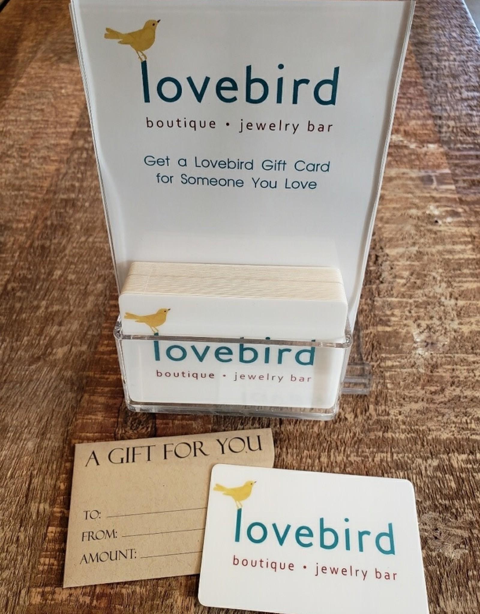 Lovebird Gift Card $125