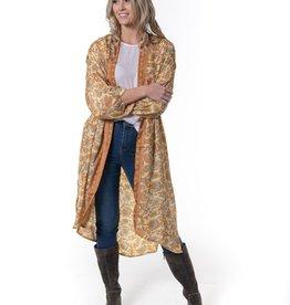 Cienna Daphne Silk Kimono One Size