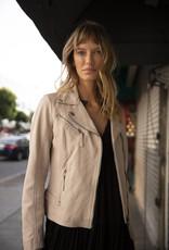 Mauritius Pasja Leather Jacket Nude