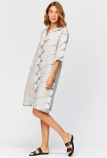 XCVI Rawn Shirt Dress