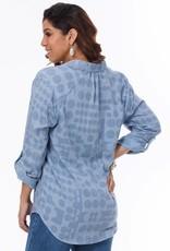Lior Avalon Polka Dot Shirt